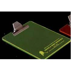 "Transparent Neon Green Acrylic Clipboard (14""x10""x1/8"")"