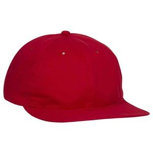 OTTO Brushed Cotton Blend Twill Soft Visor 6 Panel Low Profile Baseball Cap