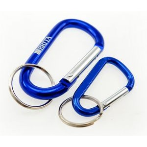 Laser Engraved Mini Carabiner (Next Day Service)