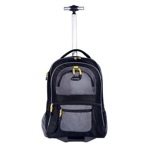 "19"" TPRC Rolling Backpack w/Computer Section"