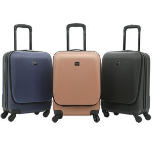 "20"" Hardside Rolling Carry-On w/Front-Opening Organizer/Computer Compartment & Spinner Wheels"