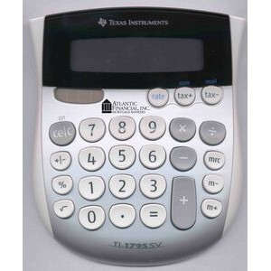 Texas Instruments 1795SV Classic Mini Desktop Everyday Calculator W/ SuperView