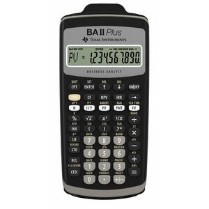 Texas Instruments BAIIPlus Business Financial Calculator