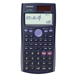 Casio FX300ES 2-Line Scientific Calculator with Table/ Fraction Functions