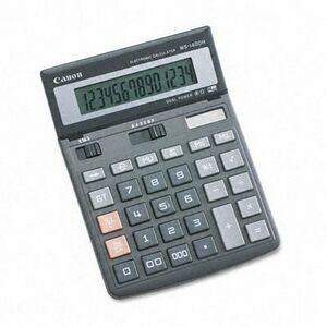 Canon WS1400H 14-Digit Portable Calculator