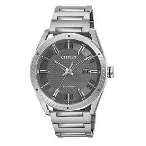 Citizen Men's Drive CTO Eco-Drive Watch, SS with Grey Dial