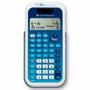 Texas Instruments 34MV MultiView Scientific Calculator