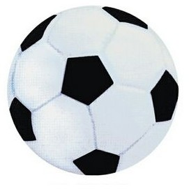 "3 1/4"" Rubber Bouncing Soccer Ball"