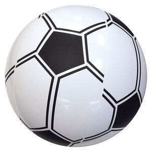 "16"" Inflatable Soccer Beach Ball (Regular Size)"