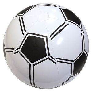 "36"" Inflatable Soccer Beach Ball"