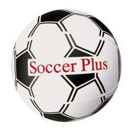 "6"" Inflatable Soccer Beach Ball"