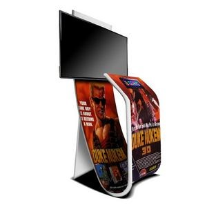 Fabsta™ Plus, LCD Monitor & Tablet Mount- Stretch Fabric Banner Signs