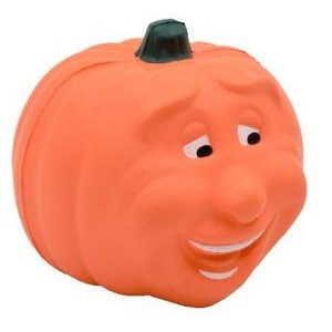 Maniacal Pumpkin Stress Reliever Squeeze Toy