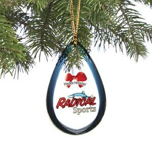 Holiday Shatterproof Ornament (4.1 to 5 Square Inch - Double Sided Dome)