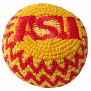 Guatemalan Embroidered-crocheted Footbag/Custom