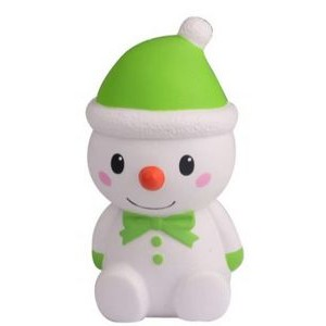 CutieLine Slow Rising Scented Christmas Snowman Squishy
