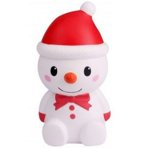 CutieLine Slow Rising Scented Red Christmas Snowman Squishy
