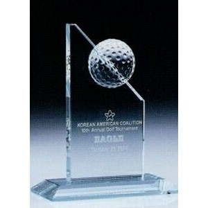 Small Jade Golf Tower Trophy