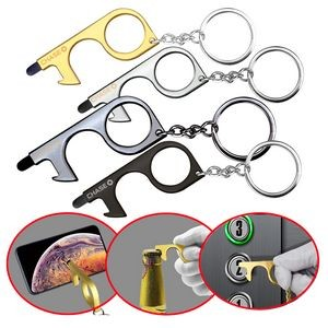 PPE No-Touch Door/Bottle Opener with Stylus