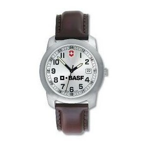 Wenger® Genuine Swiss Army Watch - LARGE SILVER FACE