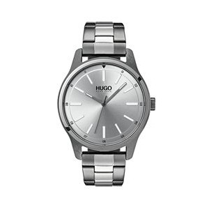 Hugo Boss Gentleman's Stainless Steel #Dare Watch w/Silver Dial