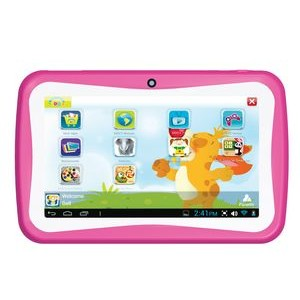 "Supersonic® 7"" Android Dual Core Kids Tablet (Pink)"
