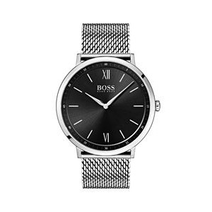 Hugo Boss Gentlemans Essential Watch w/Stainless Steel Mesh Bracelet