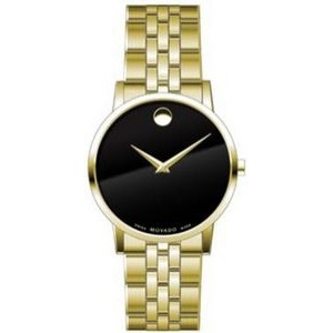 Movado Gentlemen's Yellow Gold PVD Museum Classic Watch