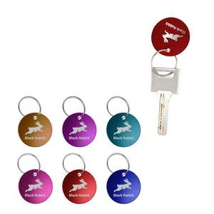 Round Shape Aluminum Pet ID Tag