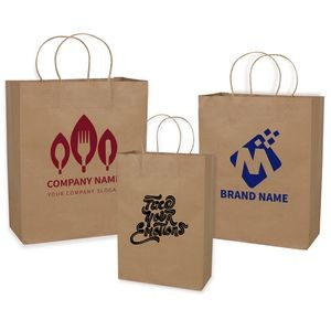 Small Nature Kraft Paper Bag