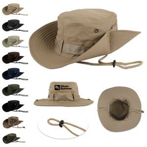 Jungle Boonie Fishing And Hunting Bucket Hat