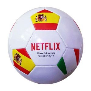 "Soccer Ball Official Size 8.5"" Custom Logo"