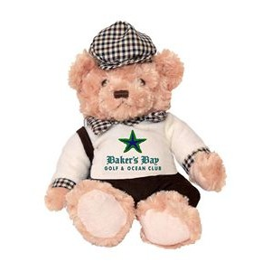 Plush golf bear - Byron golf bear