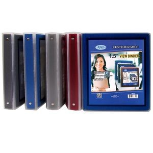 1.5 View Binder - Assorted Colors (Case of 36)