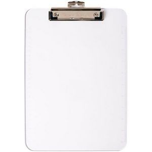 Low Profile Plastic Clipboard-Clear