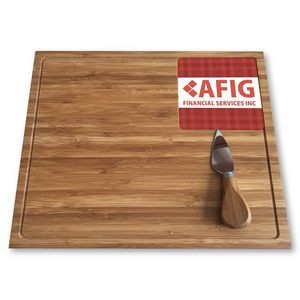 Premium Bamboo Cheese Board Set