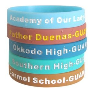 Color Filled Wristband