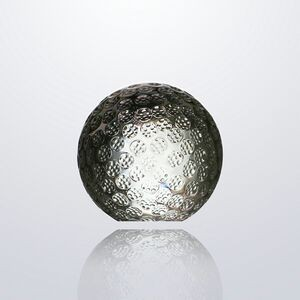 Small Crystal Golf Paperweight