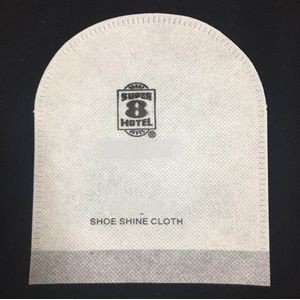 Disposable hotel supplies shoe shine cloth