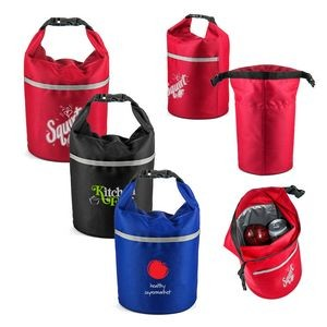 Roll Top Bucket Cooler Lunch Bag