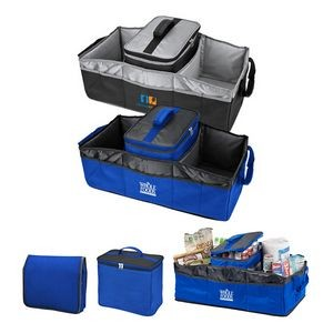 Trunk Organizer with Removable Cooler Bag